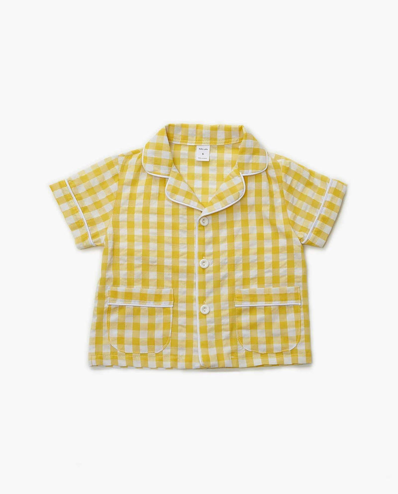 [Out of Stock] [SET] Gingham Two-Piece