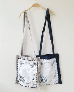 [Out of Stock] French Embroidery Patched Bag