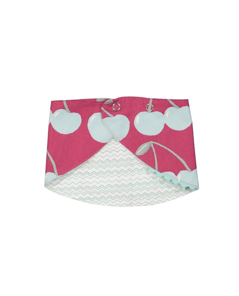 Cotton Big Cherry Bib