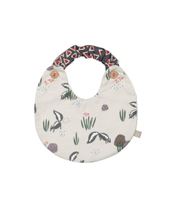 [Out of Stock] Cotton Skunk Bib