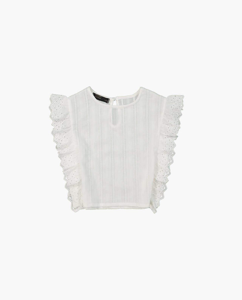 [Out of Stock] Lace Side Blouse