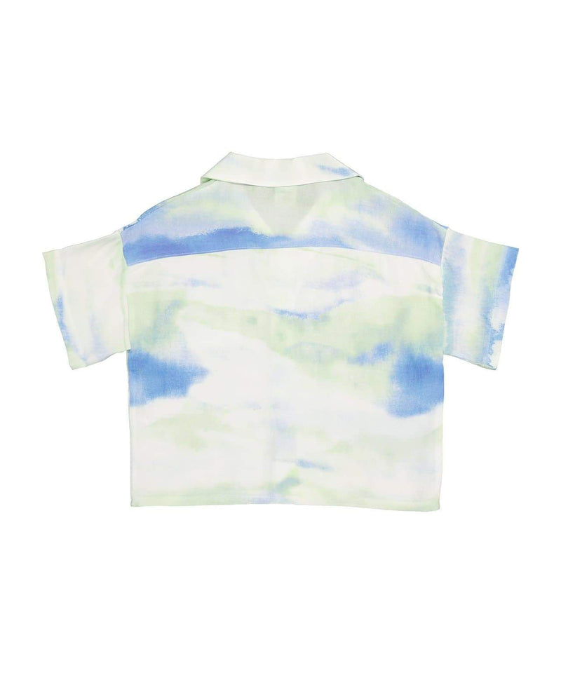 [Out of Stock] Water Color Summer Blouse