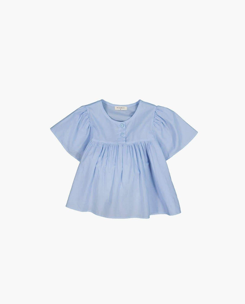 [Out of Stock] Double Button Flare Blouse