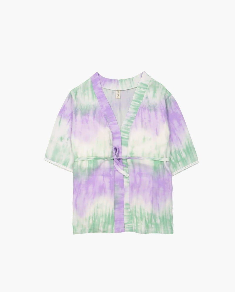 [Out of Stock] Pastel Tie Dye Cardigan