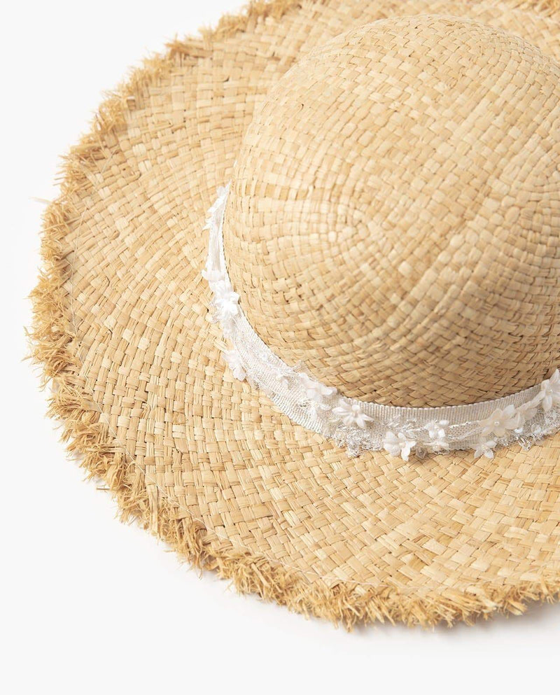 [Out of Stock] Summer Ribbon Straw Hat