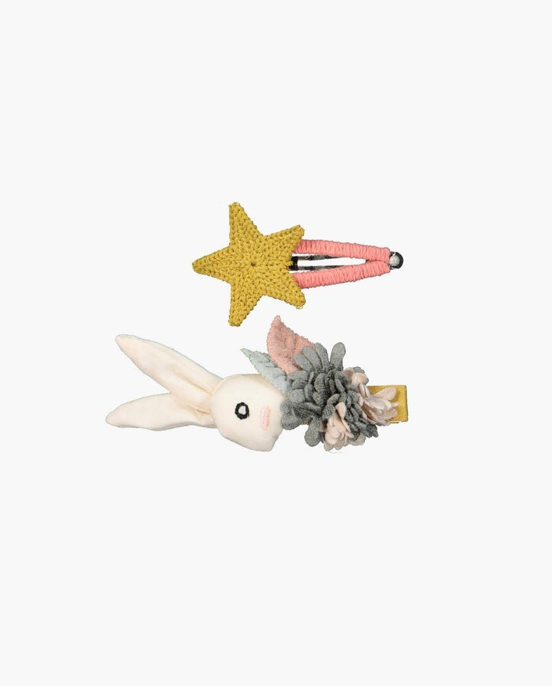 [Out of Stock] [SET-2PCS] Star and Bunny Pin