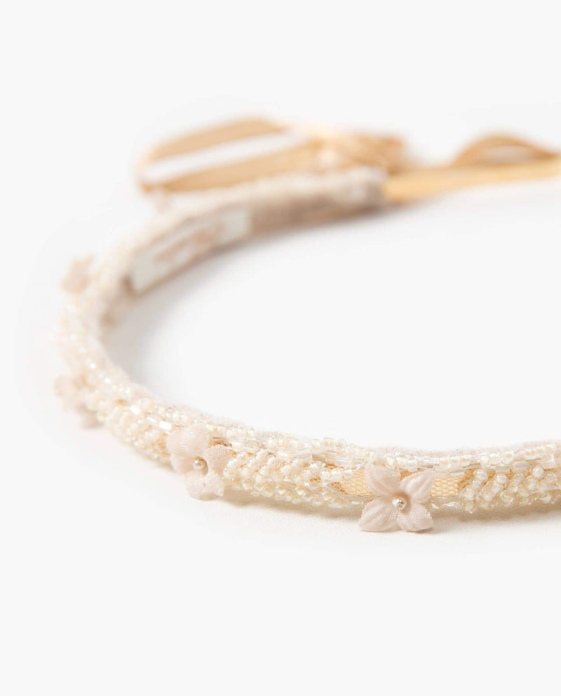 [Out of Stock] Golden Beads Headband