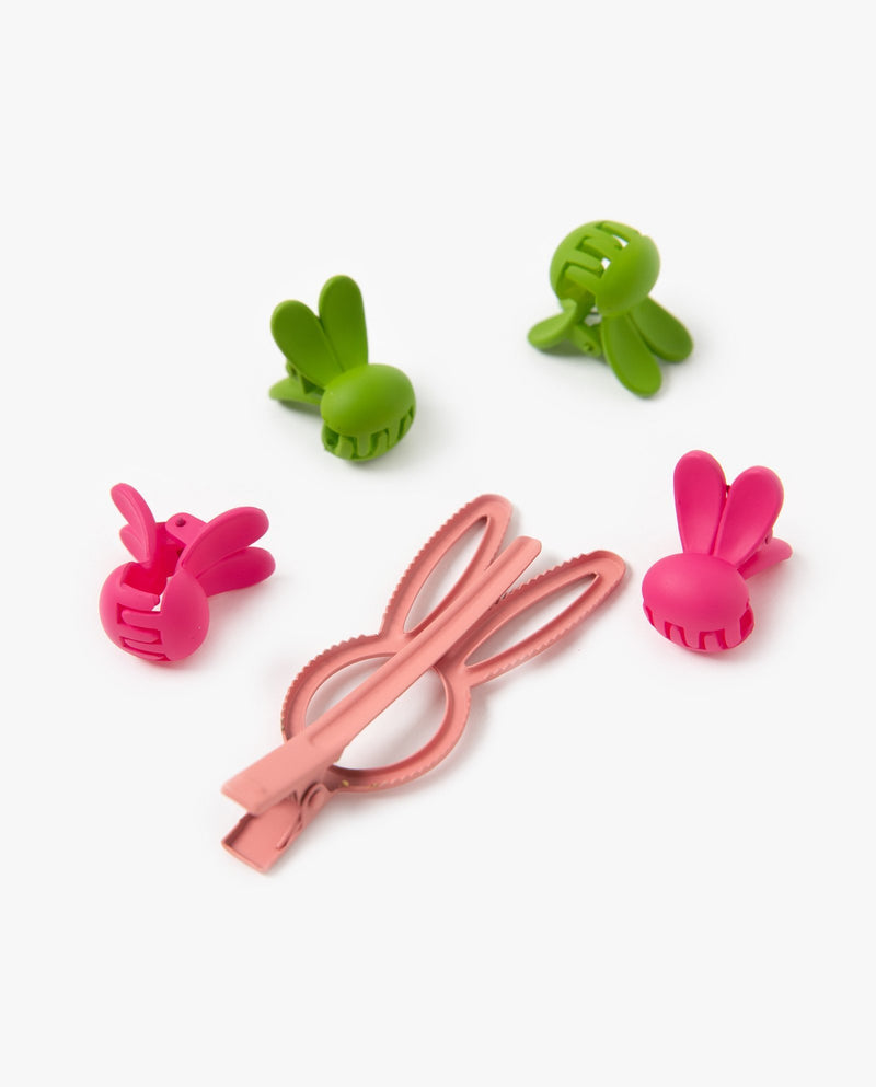 [Out of Stock] [SET] Bunny Hair Pins & Clips