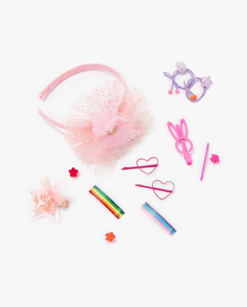 [Out of Stock] [SET] Corsage Hair Accessory Essentials Kit (Coral Pink)