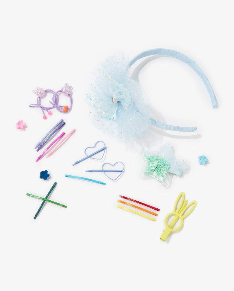 [SET] Corsage Hair Accessory Essentials Kit (Sky Blue)