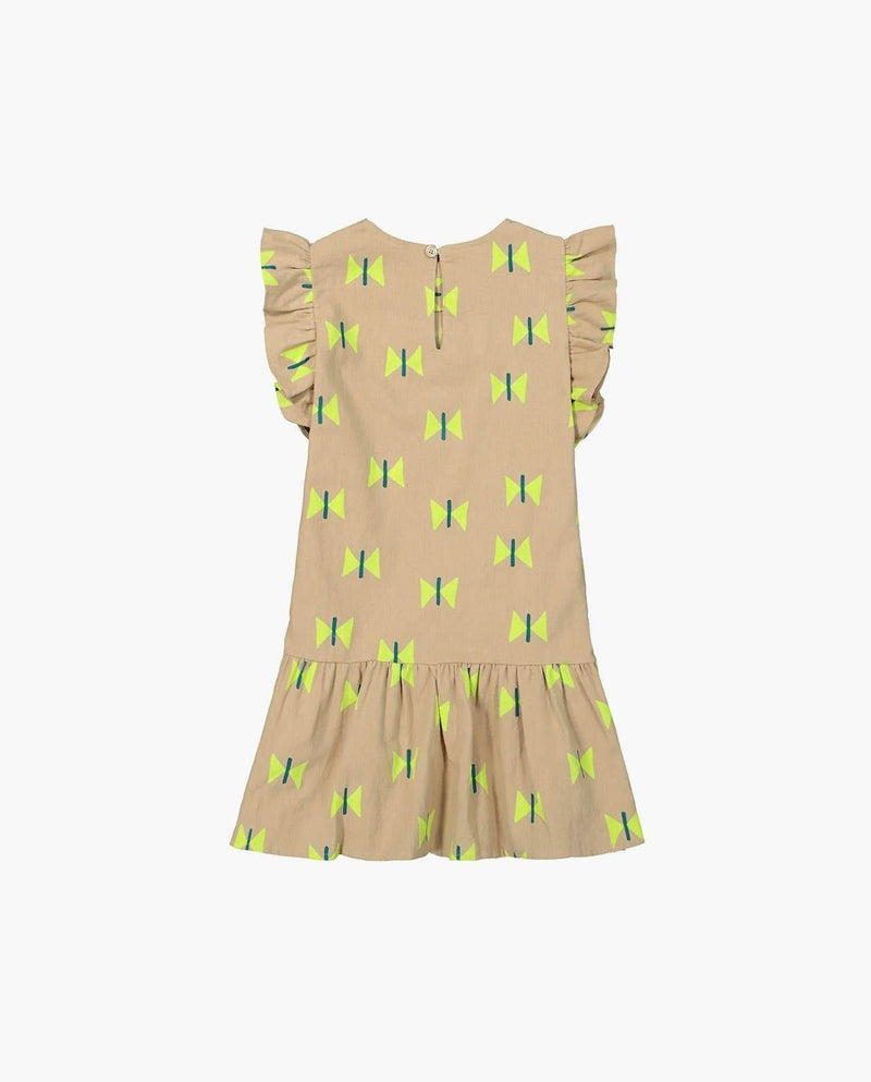 [Out of Stock] Butterfly Print Dress