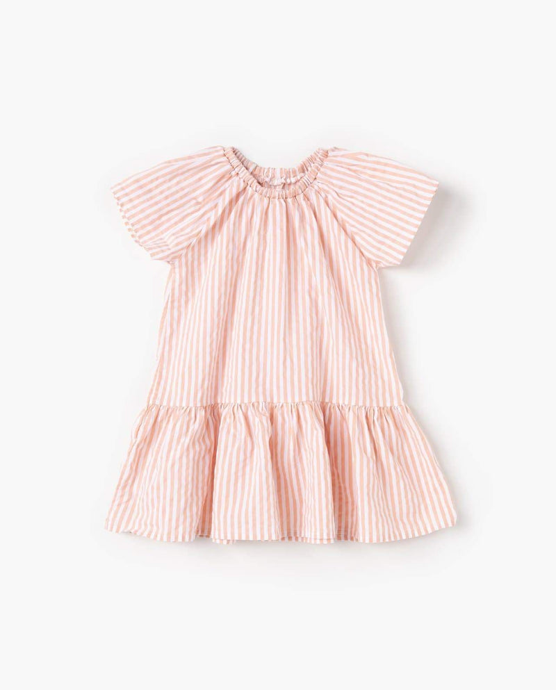 [Out of Stock] Plaid Ruffle Collar Dress