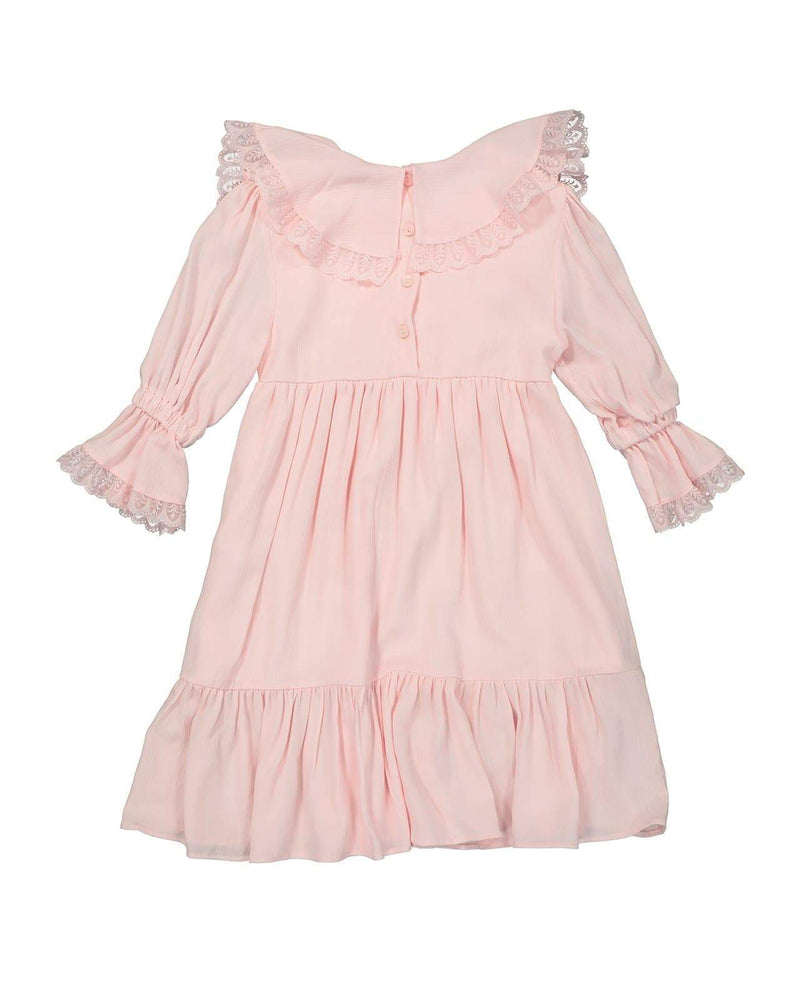 [Out of Stock] Ruffled Cape Spring Dress