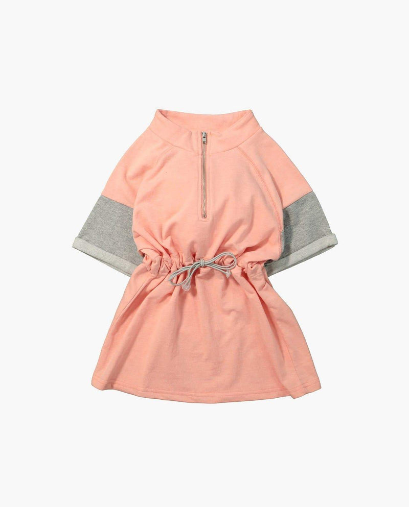 [Out of Stock] Jersey Patched Sleeve Dress