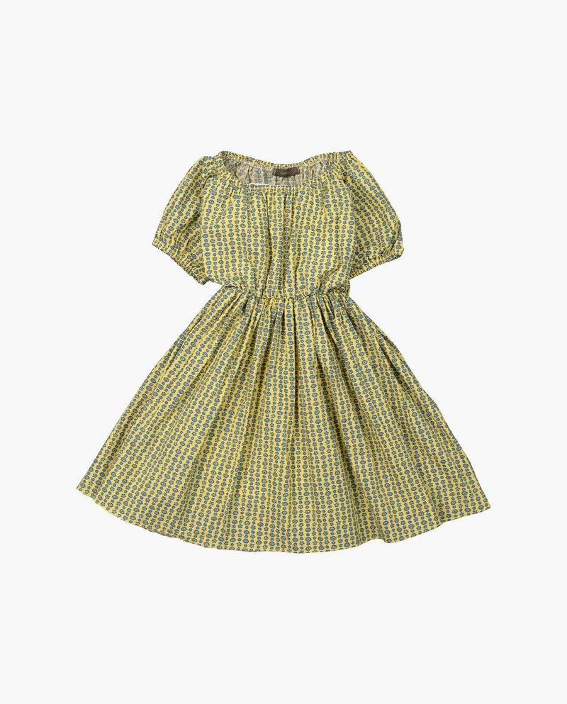 [Out of Stock] Shirred Cotton Picnic Dress