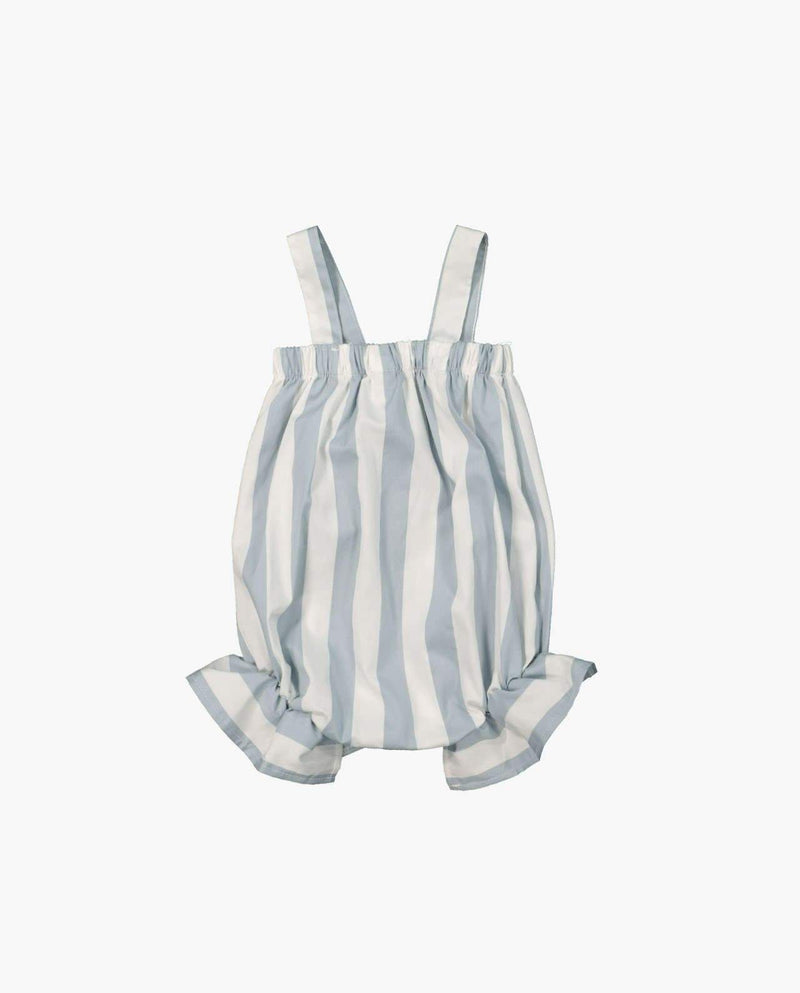 [Out of Stock] Sleeveless Vertical Stripe Rompers