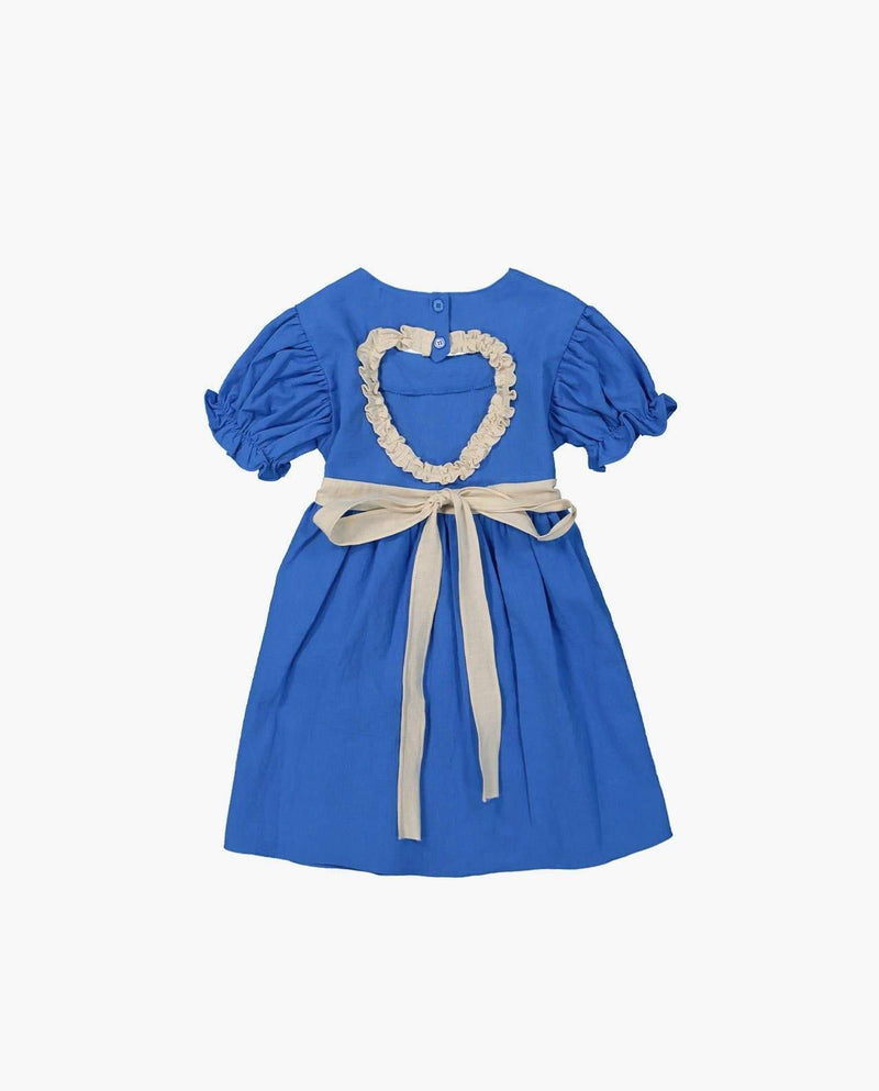 [Out of Stock] Heart Ruffle Dress