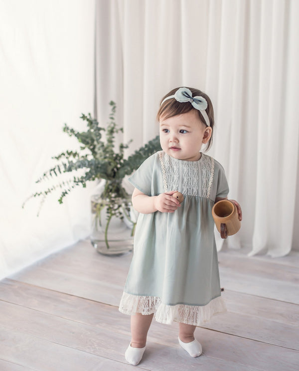 Lacey Mint Dress