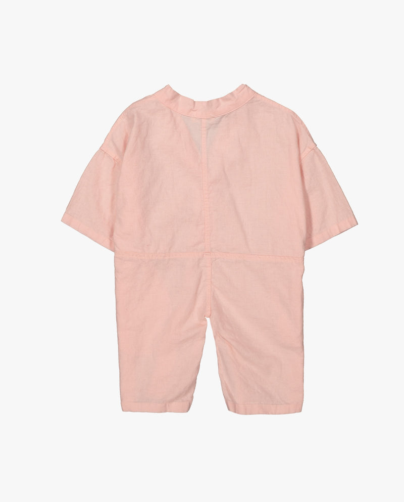 [Out of Stock] Boxy Linen Jumpsuit
