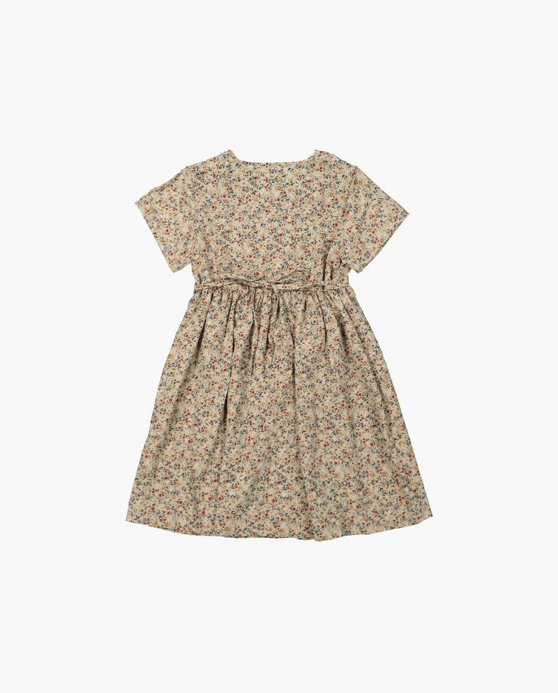 [Out of Stock] Shirred Pocket Floral Dress