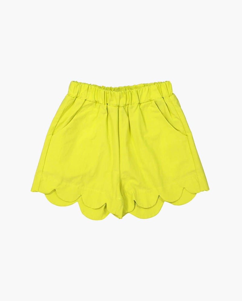 [Out of Stock] Scallop Hem Shorts