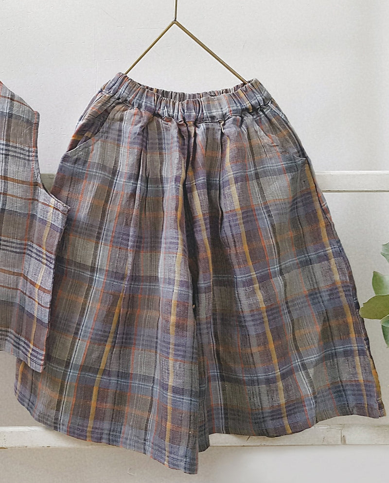 [Out of Stock] Vintage Check Shorts