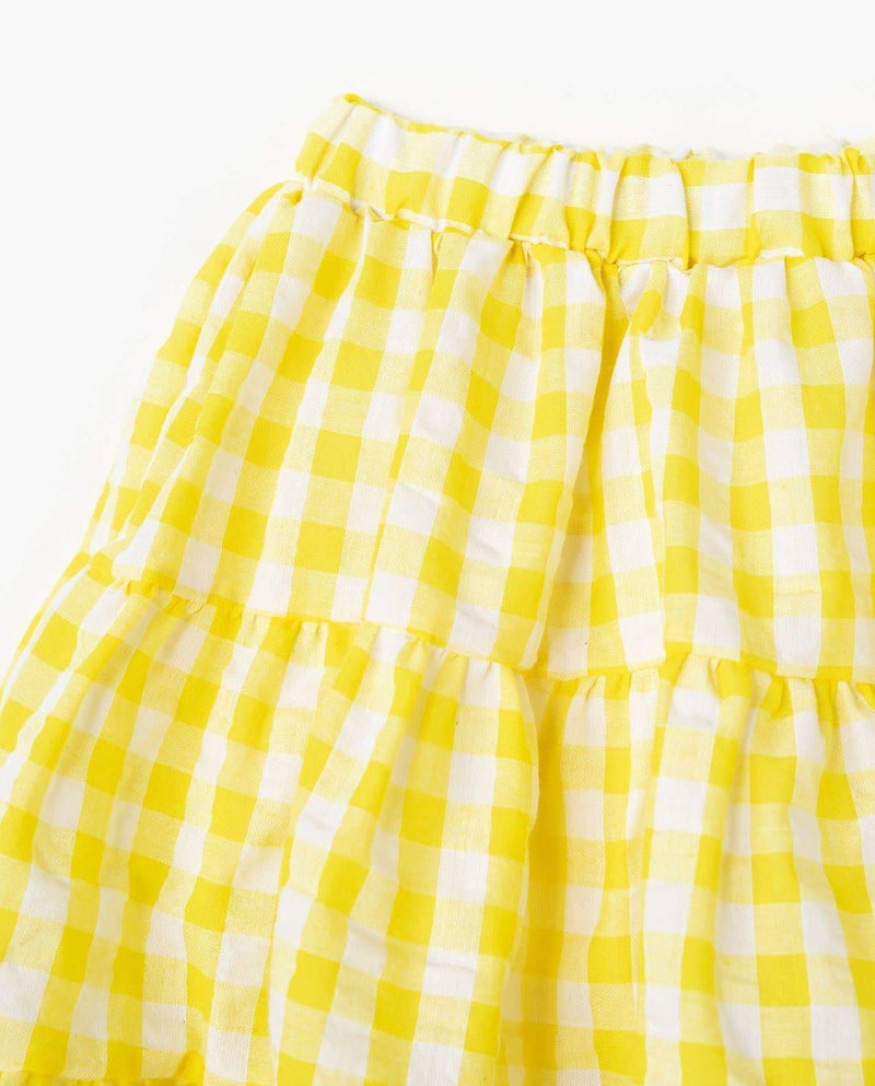[Out of Stock] Plaid Tiered Skorts
