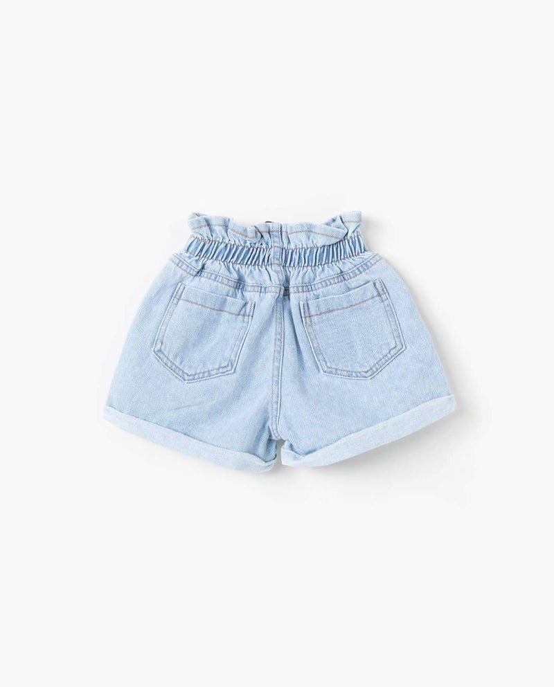 [Out of Stock] Pull-on Denim Shorts