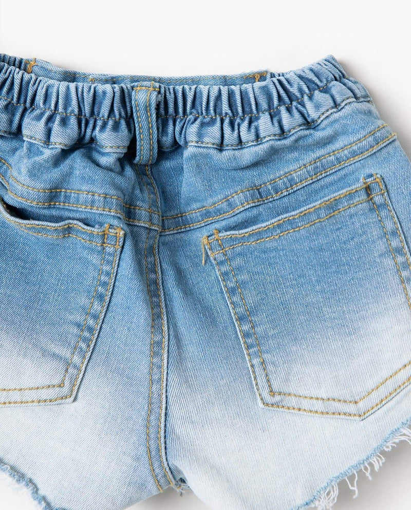 [Out of Stock] Destroyed Denim Cut-off Shorts