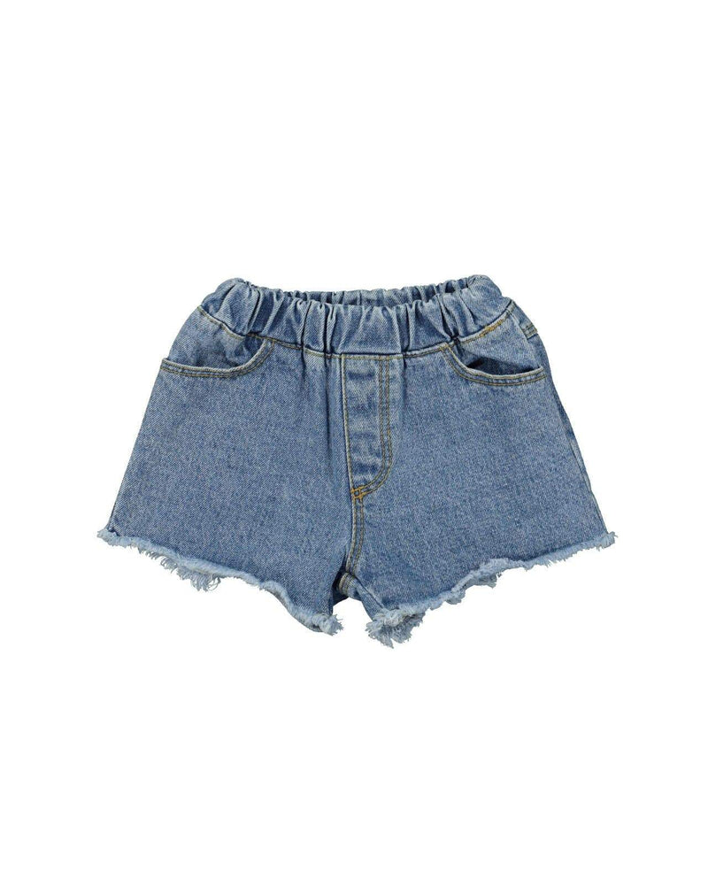[Out of Stock] Cut-off Denim Shorts