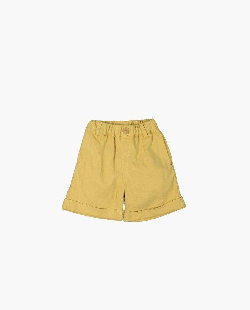 [Out of Stock] High Rise Linen Shorts