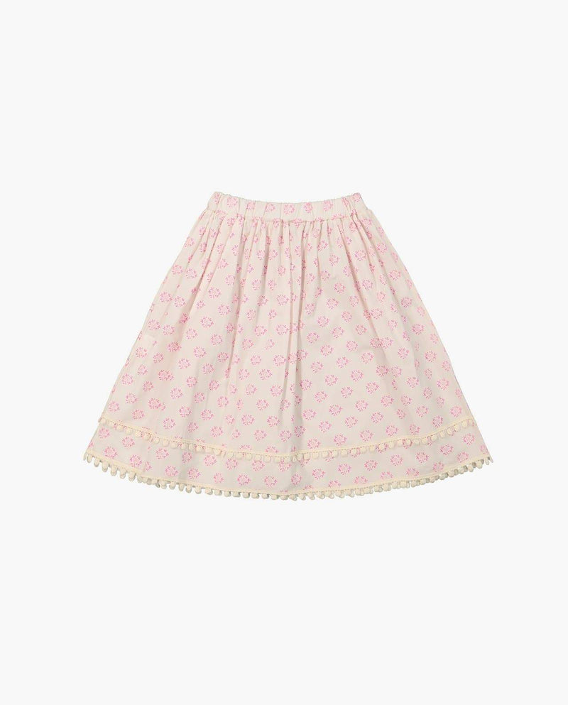 [Out of Stock] Polka Dot Flare Midi Skirt