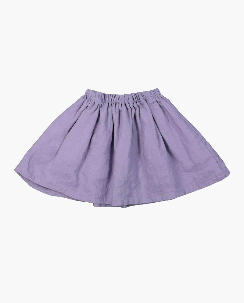 [Out of Stock] Linen A-Line Skirt