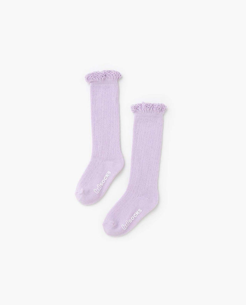 [Out of Stock] Lacey Edge Socks