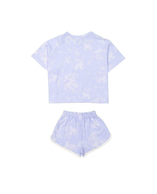 [SET] Cotton Summer Track Two-piece