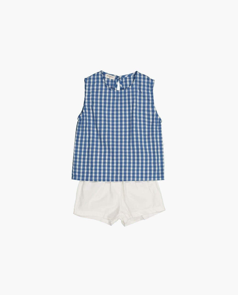 [Out of Stock] [SET] Classic Gingham Two-piece
