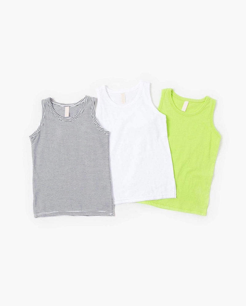 [Out of Stock] Simple Sleeveless T-Shirt