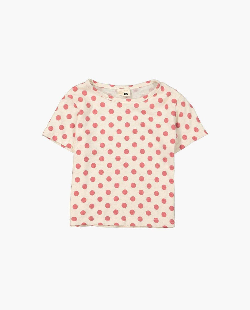 [Out of Stock] Polka Dot Basic T-Shirt