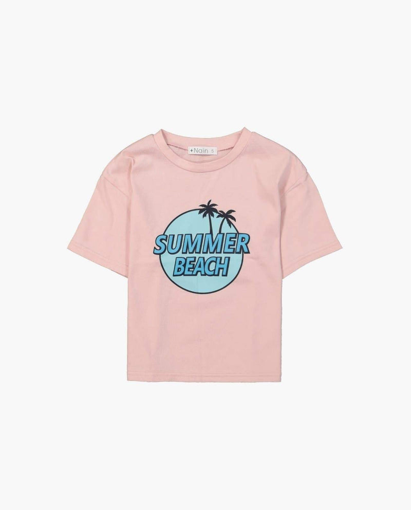 [Out of Stock] Palm Tree Cotton T-Shirt