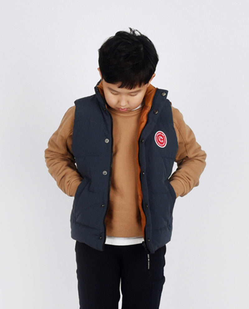 Reversible Duck Down Vest