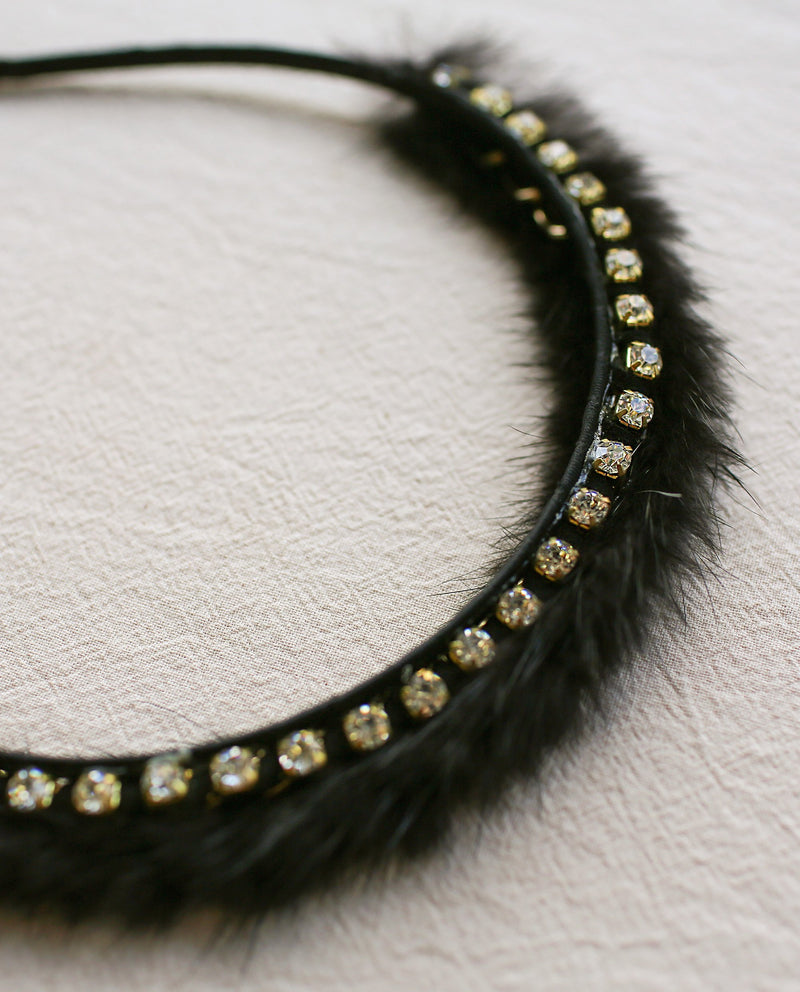 [Out of Stock] Sparkly Fuzz Headband