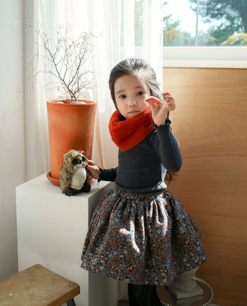 [Out of Stock] Floral Flared Skirt