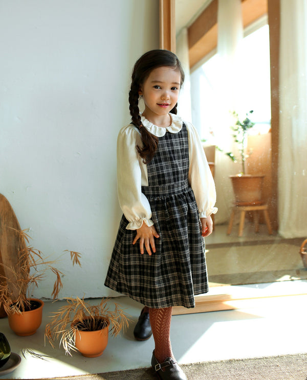 [Out of Stock] Lovely Fleece Overall Dress