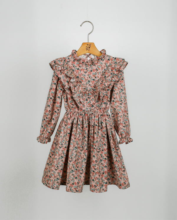 [Out of Stock] Ruffled Floral Dress