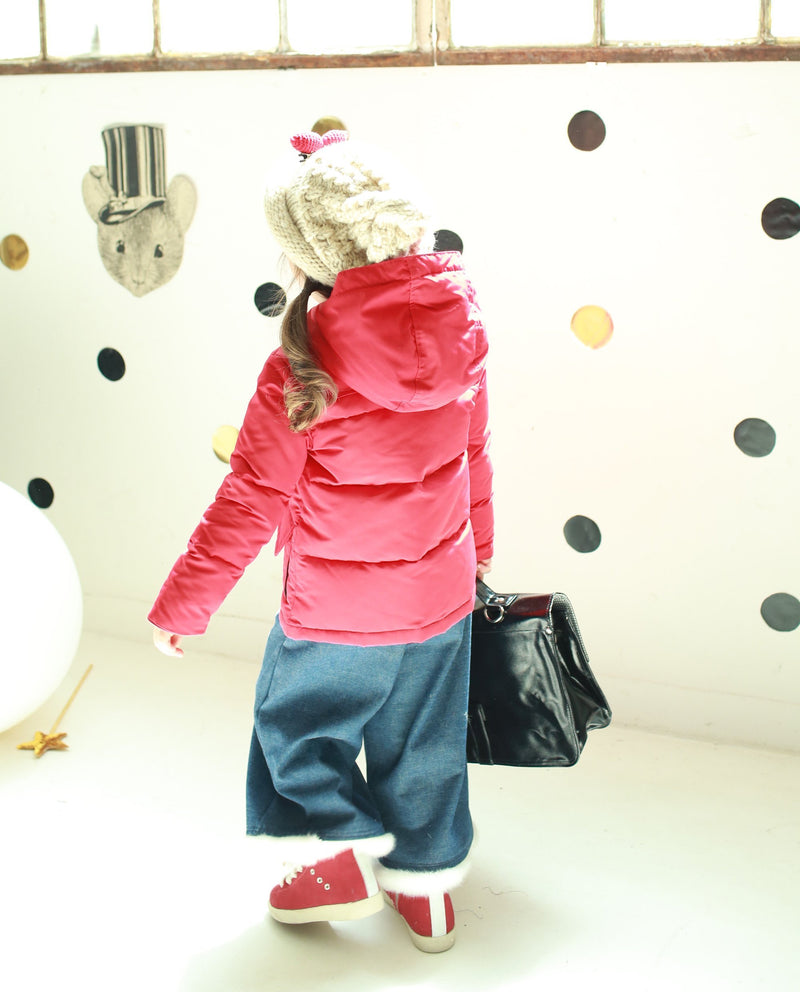 [Out of Stock] Puffy Duck Down Duffle Coat