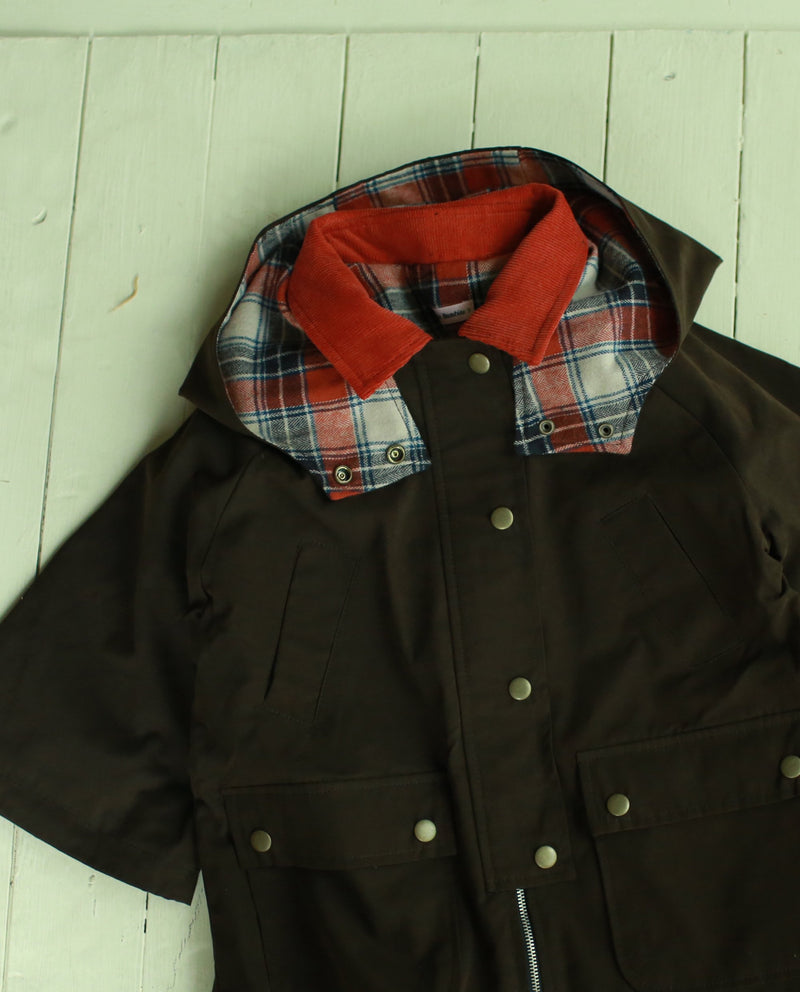 [Out of Stock] Plaid Lined Jacket