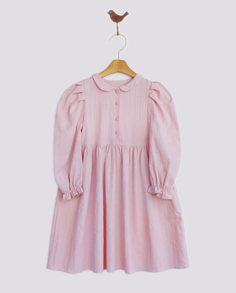 [Out of Stock] Round Collar Maxi Dress