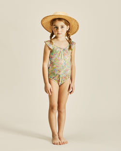 Wing Sleeve Swimsuit on MooMooz