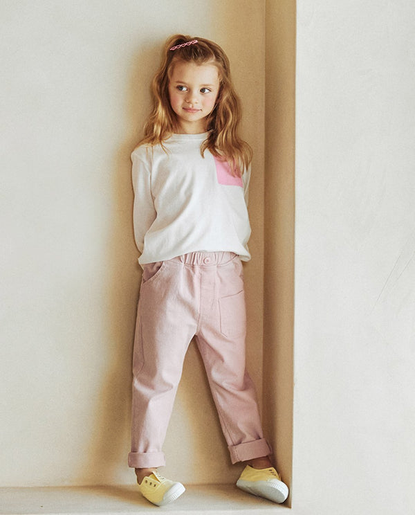 Pastel Pocket Pants on MooMooz