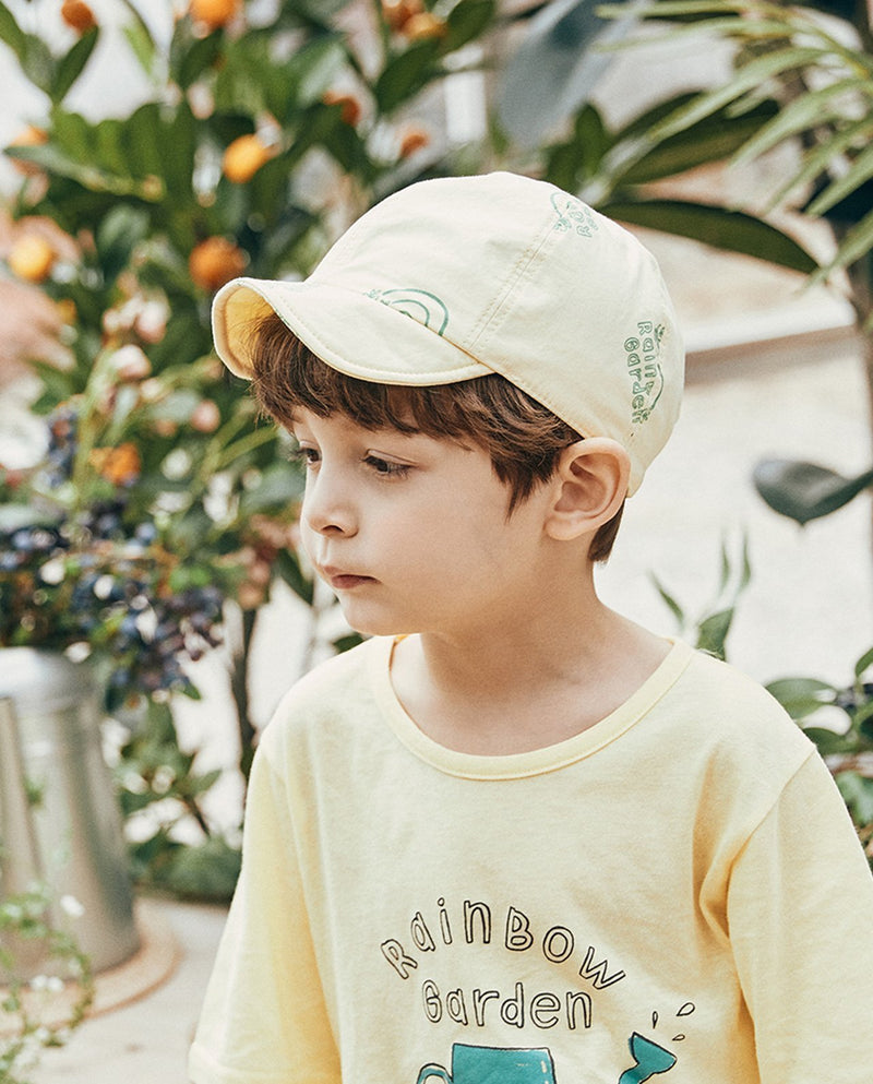 [Out of Stock] Rainbow Garden Yellow Cap